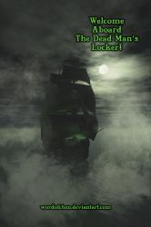 Pirate Post Card - Green Text by WordOfChen