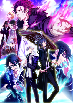 K project- Main Characters by Ssabinka