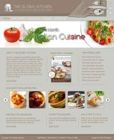 The Global Kitchen by freshgraphics