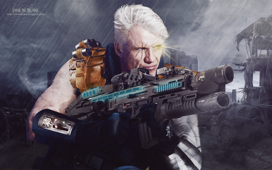 Dolph Lundgren as Cable [Nathan Summers] (fancast) by JaneNBlake