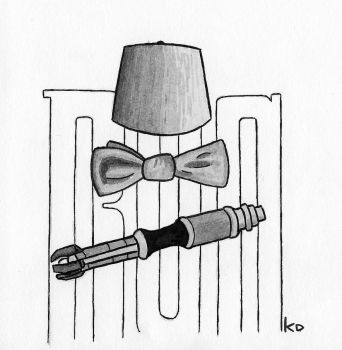 [Inktober 2017](11th Day)[Doctor Who] Basically .. by KeplerDream