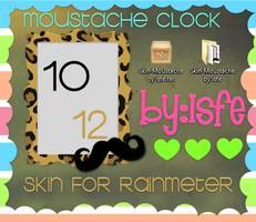 Skin For Rainmeter Frame Moustache By isfe by Isfe