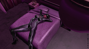 Batgrrl Lara: Suductive Intruder in my Bed by iRawr4Lara