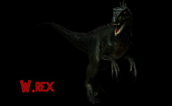 Charlie Raptors squad jurassic world news model by Wolfhooligans