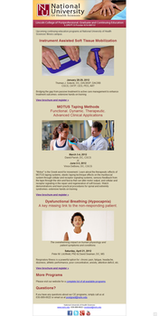 Massage Therapy Email Blast by rlcamp