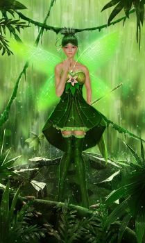 Original Character - The Deeply Forest Fairy by EntiretyGift