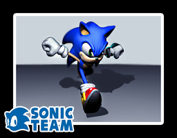 Sonic Snap - Sonic the Hedgehog 3D by oathbinder-3D