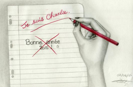 Je suis Charlie by Dalima-Dith