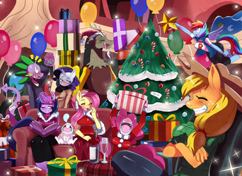 :MLP: Happy Holidays '13 by ss2sonic