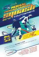 Squash Tournament poster by owdesigns