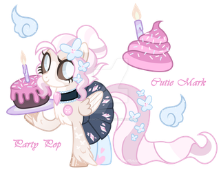 ISP Adoption - Party Pop *CLOSED* by MagicDarkArt