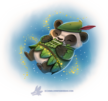 Daily Paint #1233. Peter Panda by Cryptid-Creations