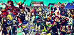 Kingdom Hearts: Ultimate Mission Marvel Poster by multificionado
