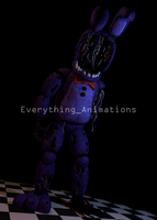 Withered Bonnie by EverythingAnimations