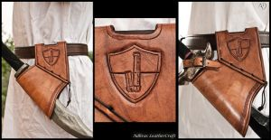 Custom Larp Sword Holster by Adhras