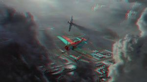 Avions Anaglyphe by Fan2Relief3D