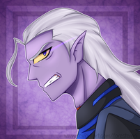 'This ends now...' - Prince Lotor - Voltron by Forestemni
