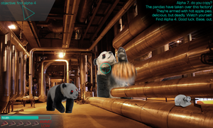 Plans Gone Wrong Panda Warfare by SierraDesign