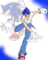 running sonic finished wrk by kaseddy