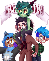 its vinnies bday!! by ego-boi