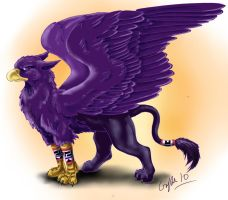 Tura: The Gryphon Mage by SilverFlight