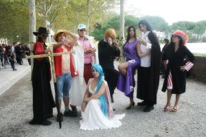 One Piece Group Lucca _2012 by Cosmy-Milord