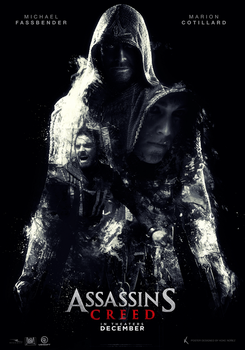 Assassin's Creed movie fan poster by KokeNunezWorks
