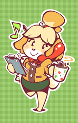 Isabelle - Ready for Work! by Torkirby