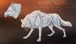 Dire Wolf by TheSodaSmuggler