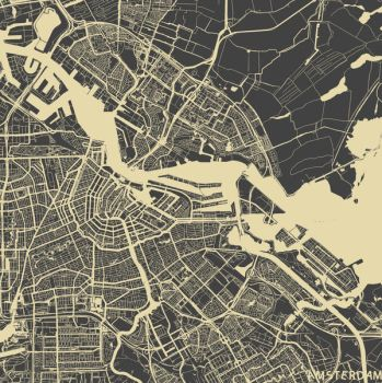 Amsterdam by MapMapMaps