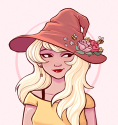 Draw this in your style: Witch by AvenK