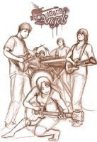 The Band. by Lunaromon