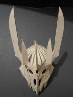 Sauron's Helm Top View by PatrickGavin