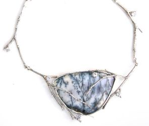 Twig Drama necklace by Niamhcat