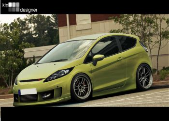 Ford Fiesta by ktn-designer