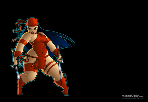 Plump Elektra - Colours by microUgly