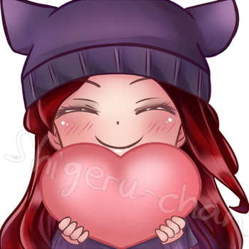 Commission Cheshire twitch icon 3 by shigeru-chan