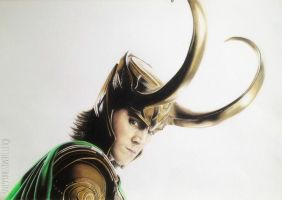 Loki by littlemissbaggins