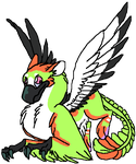 Maple Digi commission 4 little-Raven-wing by Bluesky-of-Fire