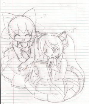 Whatcha Drawin'? :SKETCH: by CHAiTEAMELODY