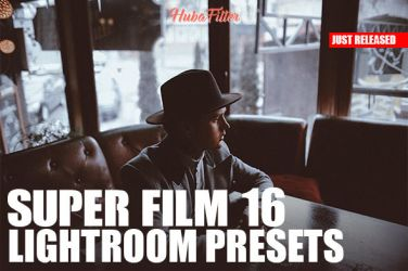 Super Film 16 Lightroom Presets + Toolkit by hubafilter