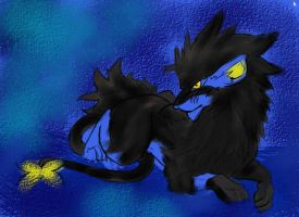 Nickoli the Luxray by wiblly