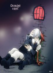 D.Gray-man - Lavi x Allen kiss by inma