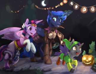 Commission: Tunaween by SilFoe