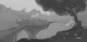 Daily Concept 9 Sketch by Vindrea