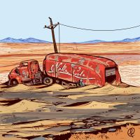 The Nuka truck by Fernand0FC