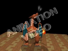 Some Charizard Test Animations by LordOfDragons