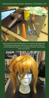 Wig Styling 101: Spiking by Malindachan