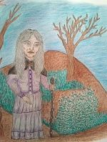 Mayra The Wise Woman by anasofiajc