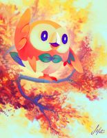 Rowlet by ShanaPatry